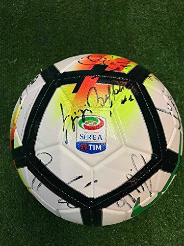 Balón de fútbol Serie A autografiadoJuventus, temporada 2017/2018 ...