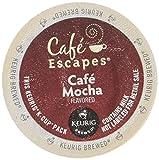 keurig cups cafe mocha - Café Escapes Café Mocha, K-Cups for Keurig Brewers (Pack of 48)