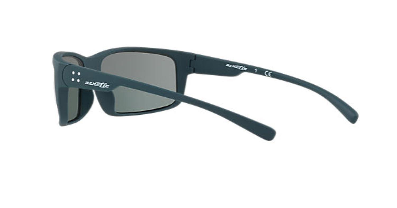 Arnette Mens Fastball 2.0 Non-Polarized Iridium Rectangular Sunglasses matte petroleum 62.0 mm 0AN4242