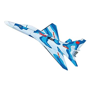 B Blesiya Hand Throwing Paper Airplane Glider Plane Unassembled