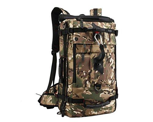 Camouflage Travelling Hiking Trekking Mountaineering Fashion Multipurpose Backpack Duffel Bag Shoulder Bag Travel Bag