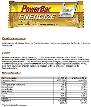 Amazon.com : Energize Bar Box (25) : Grocery & Gourmet Food