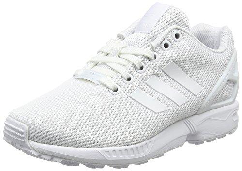 adidas Zx Flux, Zapatillas Unisex Adulto Blanco (Ftwr White/Ftwr White/Clear Grey)