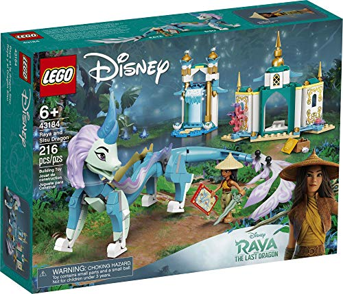 LEGO Disney Raya and Sisu Dragon 43184; A Unique Toy and Building Kit; Best for Kids Who Like Stories with Dragons and…