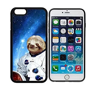 Hipster Astronaut Sloth iPhone 6 Plus Case - Fits iPhone 6 Plus