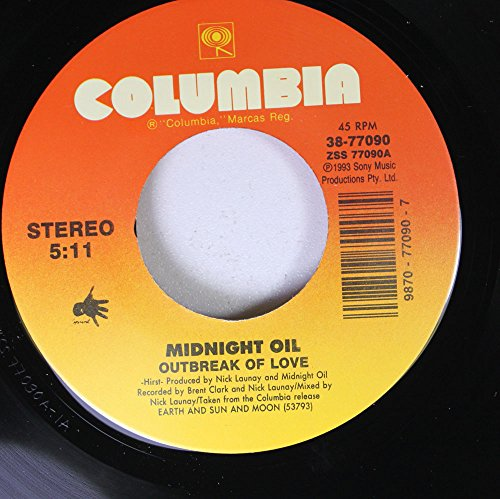 Midnight Oil - Outbreak Of Love / Ships Of Freedom (Midnight Oil Earth And Sun And Moon)