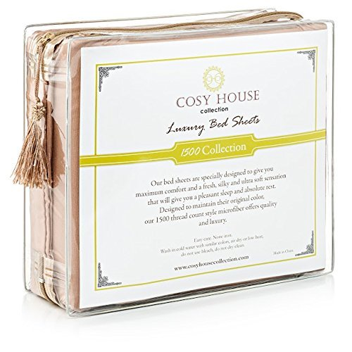Cosy House Collection Hypoallergenic Pillowcases