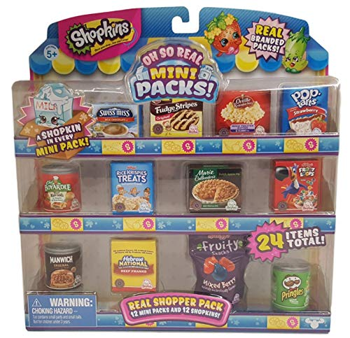 Shopkins Oh So Real - National Brands Real Shopper Pack (Style #1) (Onion Tart)
