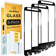 [3-PACK]-Mr Shield For Motorola Moto Z Force Droid Edition [Japan Tempered Glass] [9H Hardness] [Full Cover] Screen Protector with Lifetime Replacement Warranty