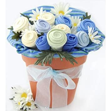 baby blossom clothing bouquet gift boy 36 months baby shower gifts