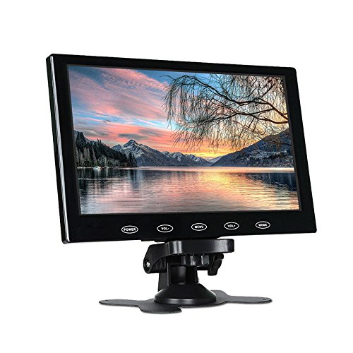 Tablets Tiny Tabs 240 Multi (TOPmountain Computer Display LCD Screen Display Car Display with Vga+Hdmi+Av Three Interface, with Universal Plug-9 Inches)