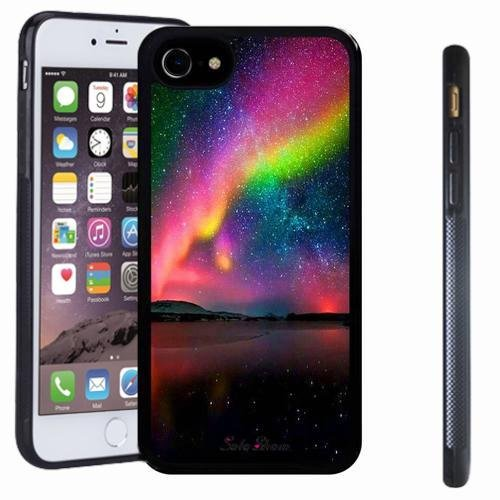 Marseille 24 Light (iphone 7 case, SoloShow(R) Slim Shockproof TPU Soft Case Rubber Silicone for Apple iphone 7 [Northern Lights])