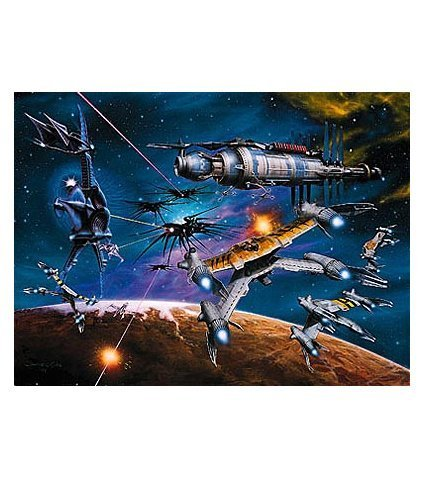 Babylon 5 War Without End Lithograph