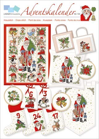 Calendario Dellavvento Punto Croce.Lindner S Kreuzstiche Croce Presentazione N 104 Calendario