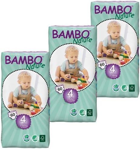 /cas de 3 Abena Bambo Nature Maxi de hauteur/