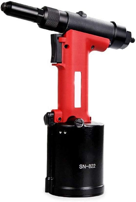 Yadianna Portable Practica Pneumatic SN-822 Core Pulling Pneumatic Rivet Fully Automatic Pneumatic Rivet Hand Tool Hand Tools Industrial