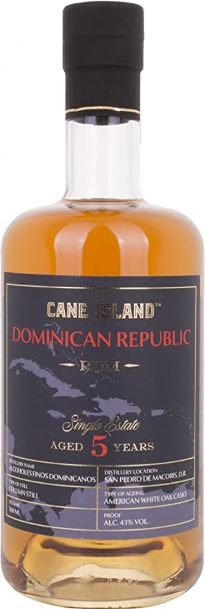 Alcoholes Finos Dominicanos Fine Spirits Cane Island ...