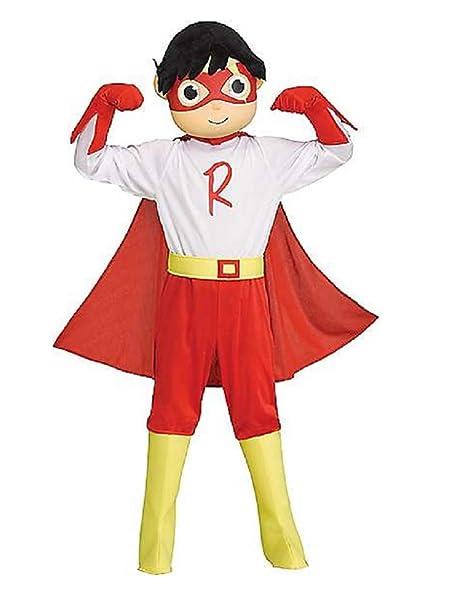Amazon.com: Ryan World Disfraz de Halloween de titanio rojo ...