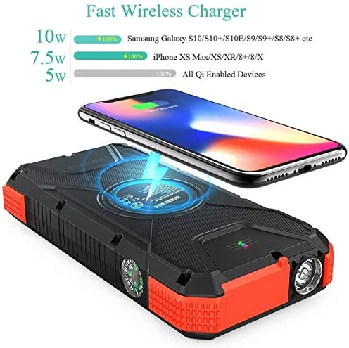 onn wireless charger flashing blue and green