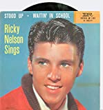 #3: Stood Up | Waitin' In School - Ricky Nelson (Imperial Records 1957) Near-Mint (7 out of 10) - Vintage 45 RPM Vinyl Record