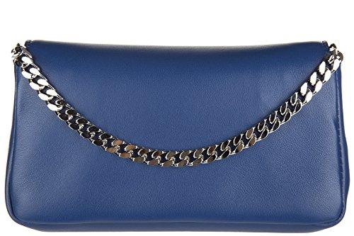 Bag Tasche Umhängetasche Damen micro Leder blu Schultertasche Fendi baguette qwHfOO