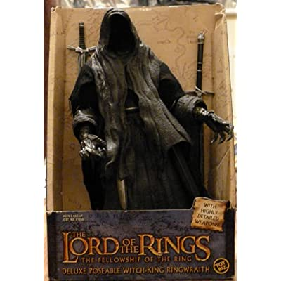 Lord Of The Rings Deluxe Poseable Witch-King Ringwraith