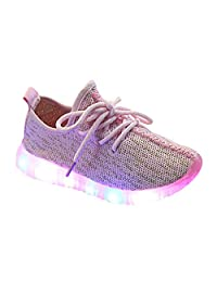 Optimal Kids' LED Light Up Shoes Kids Fashion Sneakers Sports Loafers