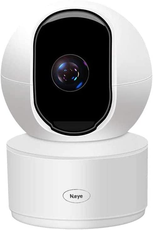 4MP WiFi Security Home Camera,Baby Monitor Wireless IP Camera with Night Vision Two Way Audio Cloud Storage Supports 2.4G WiFi,up to 128GB(White)