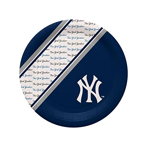 Yankees New York Paper - Duck House New York Yankees Disposable Paper Plates
