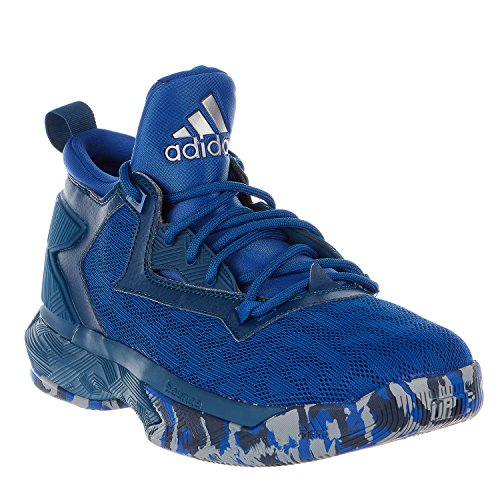 adidas D Lillard 2 Herren Basketballschuh Collegiate Royal / Tech Steel / Weiß