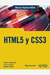 HTML5 y CSS3 / HTML5 and CSS3 by Alexis Goldstein (2011-11-06) Paperback