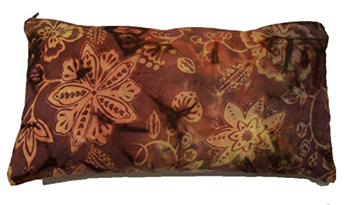 Support Pillow. Organic Buckwheat Hulls, Adjustable Fill.