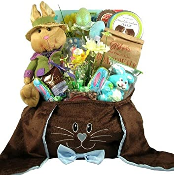 Amazon ultimate easter bunny easter basket of premium ultimate easter bunny easter basket of premium chocolates and easter candy negle Image collections