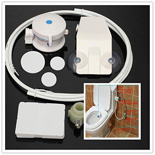 Bidets - Unisex Bathroom Toilet Bidet Seat Wall Mounting Hygiene Water Wash Flushing Sanitary Set - Privy John Facility Potty Lavatory Crapper Lav - 1PCs ()