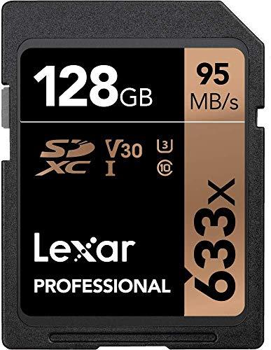 Lexar Professional 633x 128GB SDXC UHS-I Card from Lexar