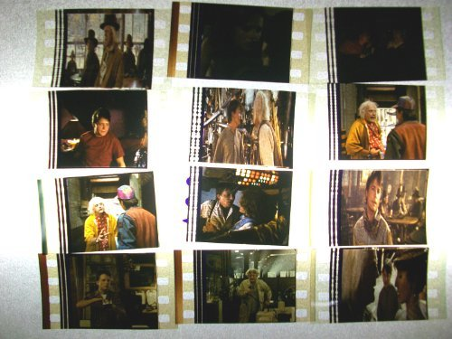 BACK TO THE FUTURE mix Lot of 12 35mm film cells collectible memorabilia comp...