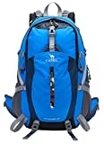 CAMEL CROWN 40L Lightweight Backpack Water Resistant Outdoor Sports Daypack with Rain Cover for Hiking Running Cycling Biking Climbing and Hunting Review