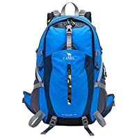 CAMEL CROWN Hiking Backpack 30L Waterproof Travel Daybacks Camping Backpack Lightweight Daypack with Rain Cover