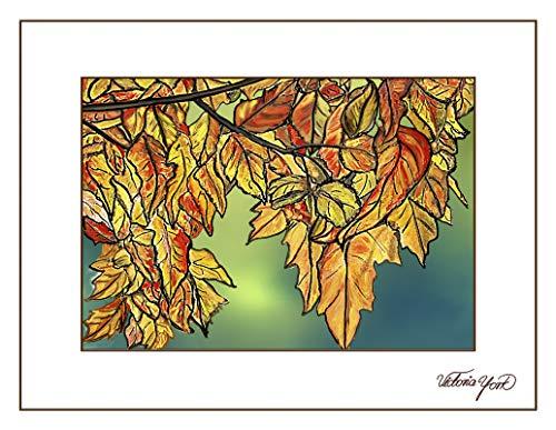 (Fine Art Note Card: Fall Colors (Item # 08-042-00))