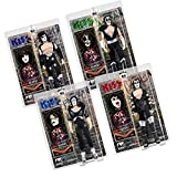 Figures Toy Company KISS 8 Inch Action Figures Alive Re-Issue Series: Set of All 4