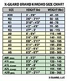 XGUARD Brand Pinoy Pride II Jiu Jitsu Gi BJJ Kimono Rip Stop Pants Soft Premium Honeycomb Jacket Blue A0 A1 A1t A3 or A4 Manny Pacquiao Filipino Grapplers