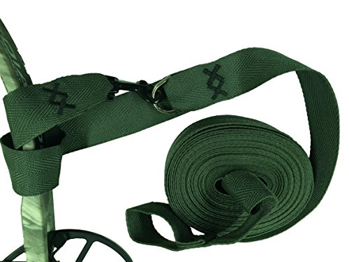 Campingandkayaking Bow Easy Lift, Bow Pull up Strap Over 27' long! Easy on your hands in Cold or Wet Weather. A Double Wrap Connection System Insures Your Equipment is Safe. ()