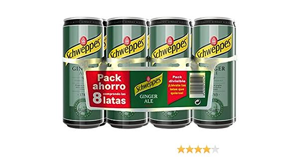 Schweppes Ginger Ale, 8 x 33cl