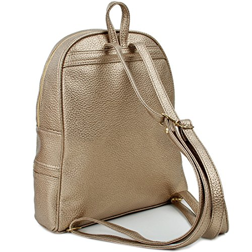 Women's Deep Gold Copi Black Copi Size Backpack Women's One ERZ6AwSq