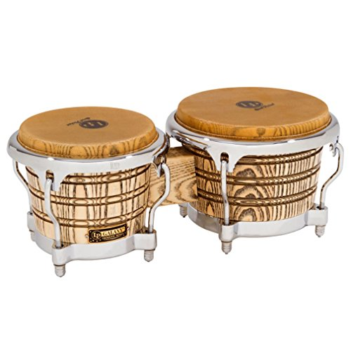 Palladium Conga Bag - Latin Percussion LP Galaxy Giovanni Series Bongos - Natural/Chrome