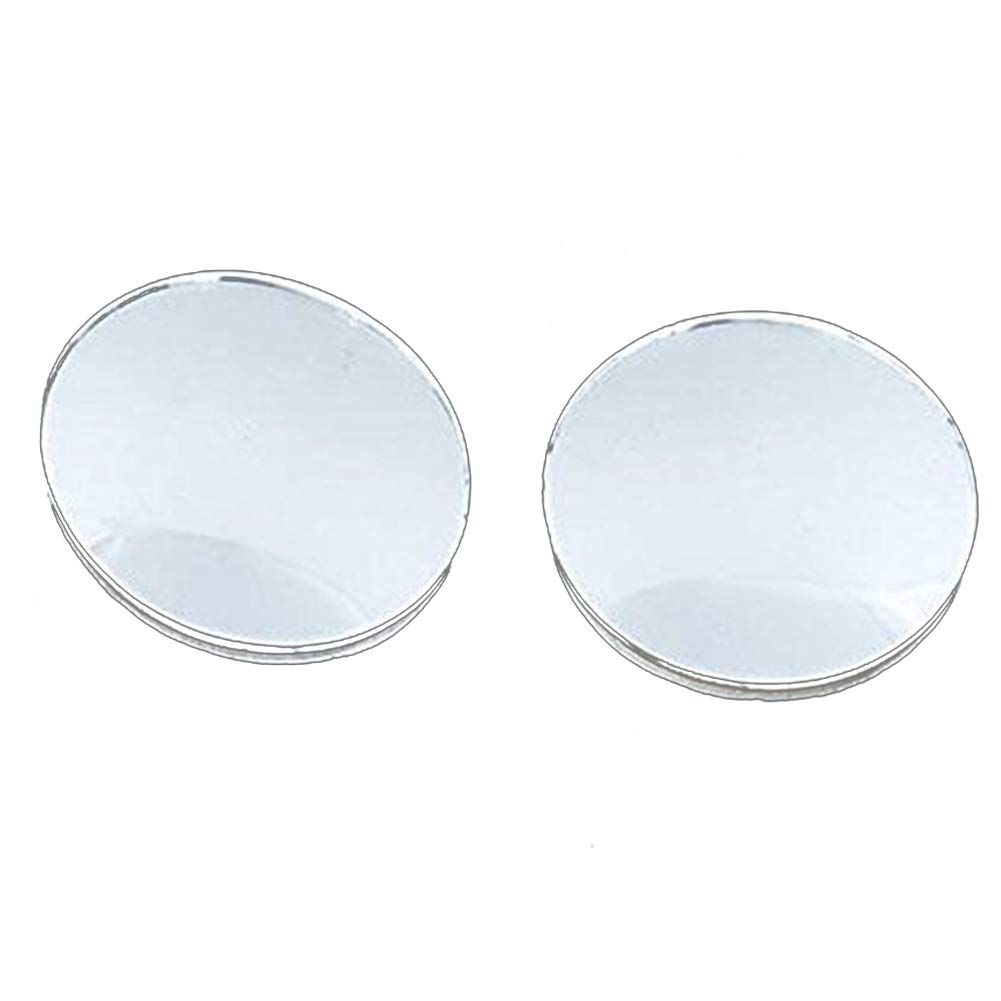 Blind Spot Mirror Round HD Glass Frameless Convex Rear View Mirror with Bases for All Universal Vehicles Car Deanyi