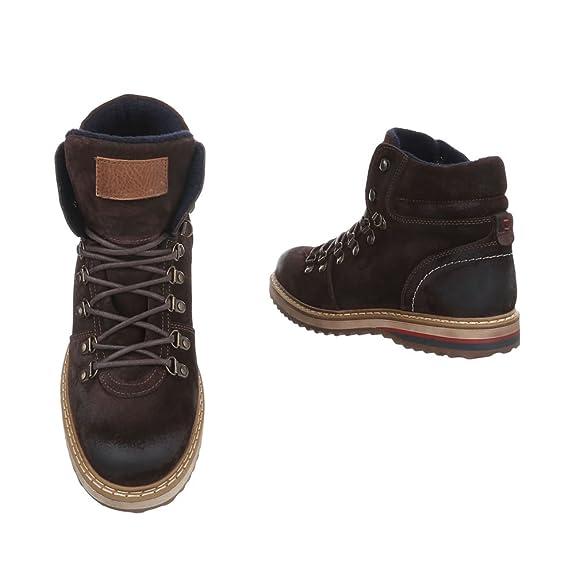 6291e42bb11588 Herren Schuhe Boots Leder Schnürer  Amazon.de  Schuhe   Handtaschen