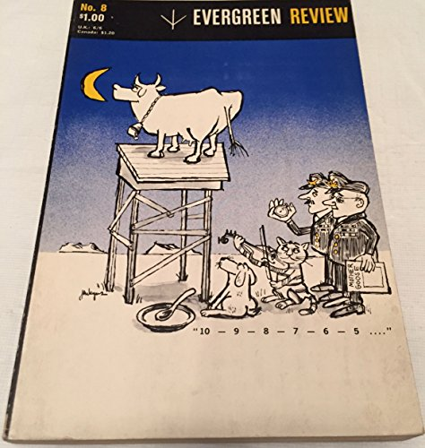 Book cover from Evergreen Review: Vol 2 No.8 by Derek Walcott