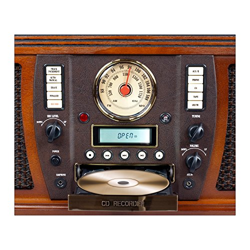 Victrola-Nostalgic-Aviator-Wood-7-in-1-Bluetooth-Turntable-Entertainment-Center-Mahogany