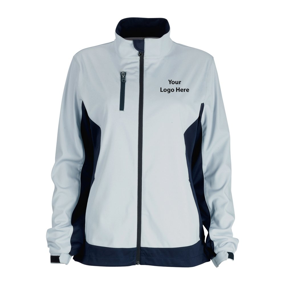 Women Air Block Softshell Jacket - 12 Quantity - $79.55 Each - BRANDED/CUSTOMIZED by Sunrise Identity